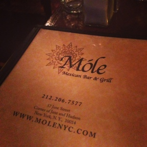 mole menu